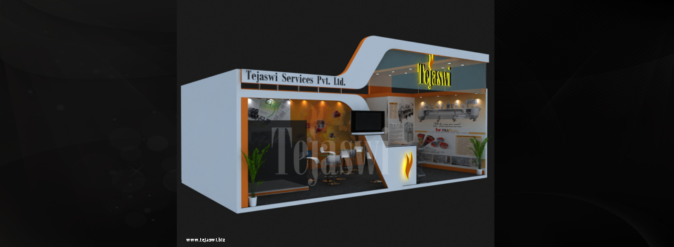 Exhibition Stall Set Up : Setting up an intelligent exhibition stall design